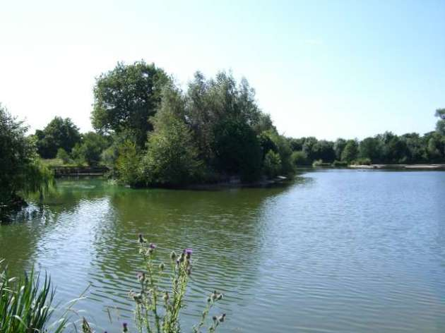 The Main Lake at Moreton