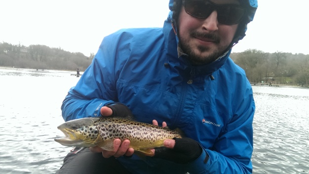 Jamie's vivid brown trout